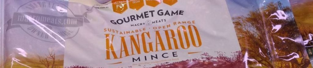Beef vs kangaroo meat