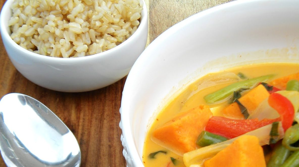 Thai chicken curry pic