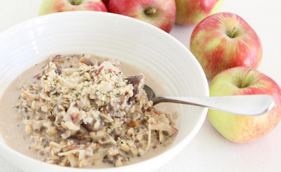 christmas bircher muesli