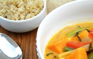 Thai chicken curry pic