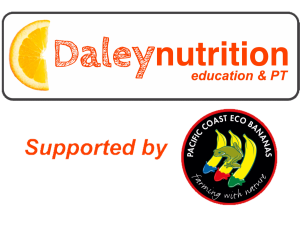 Daley Nutrition – Community Team Logo