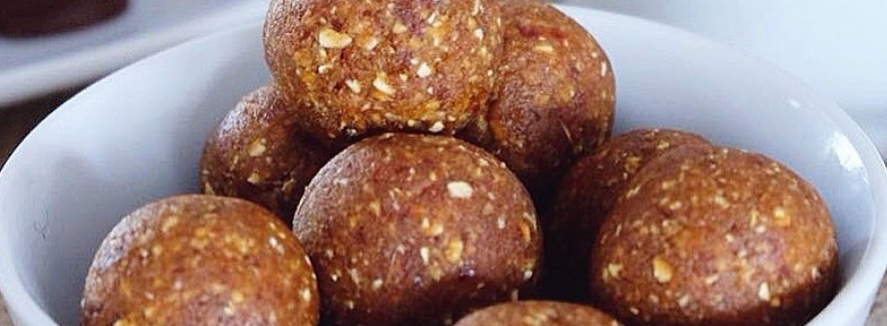 apple pie bliss balls