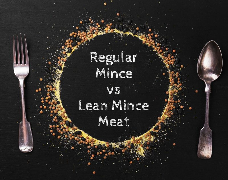 Regular mince meat vs lean mince meat