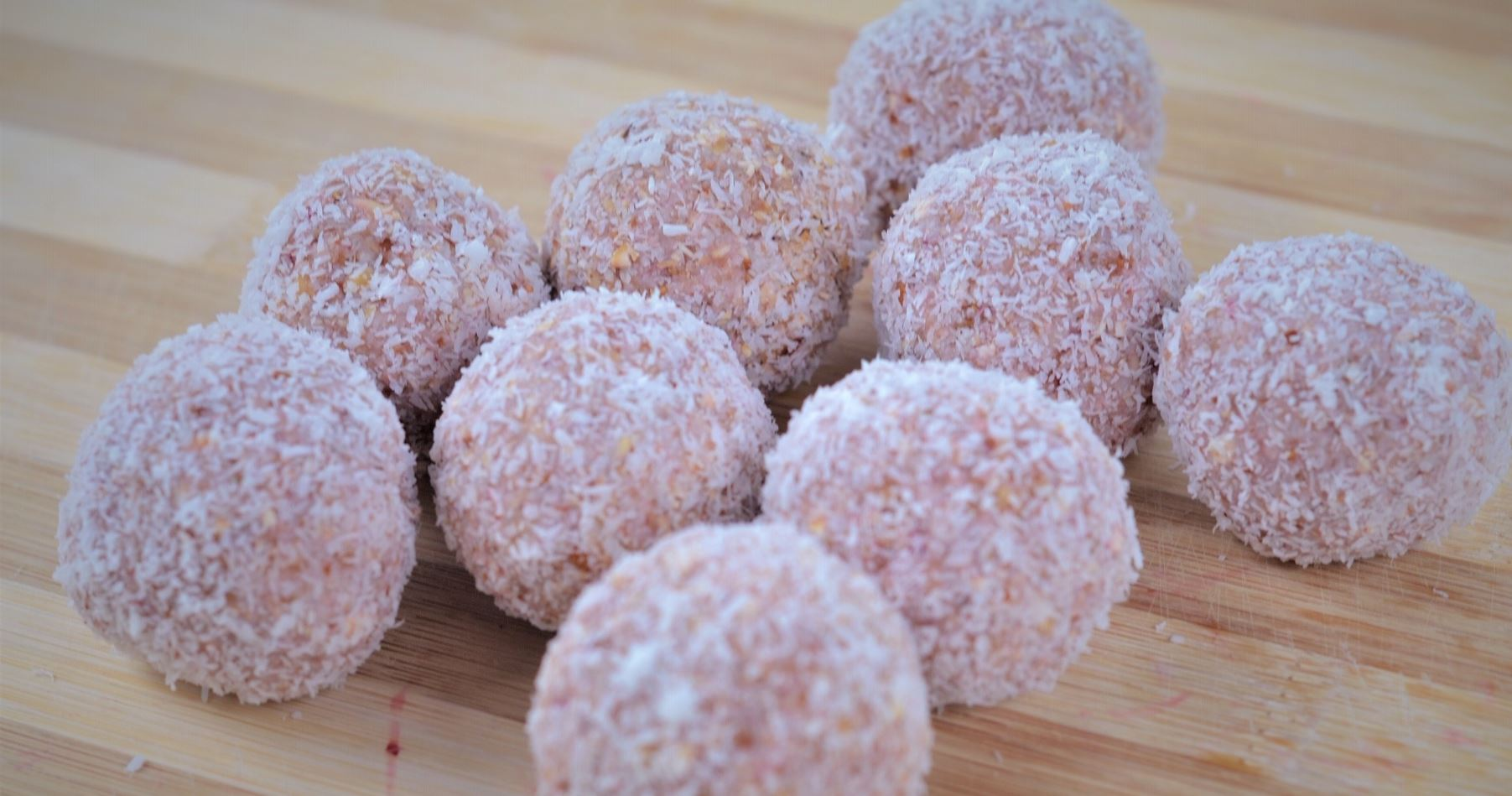 Nut Free Strawberry Bliss Balls