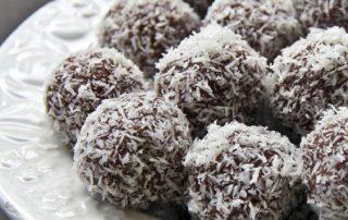 chocolate banana bliss balls