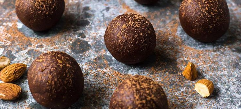 chocolate orange bliss balls